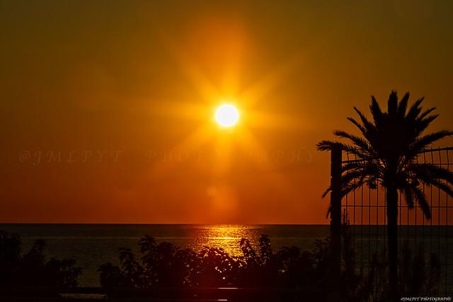 Lever de soleil à Antibes - Côte d'Azur France -3D0A3932