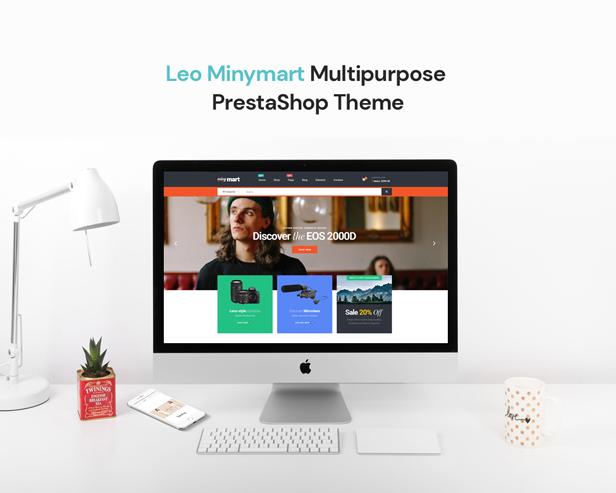 Leo Minymart - ALL-IN-ONE eCommerce WordPress Theme