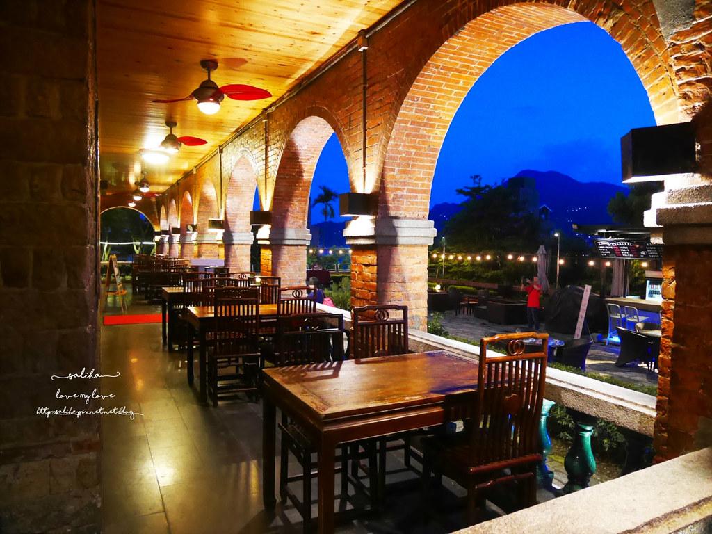 淡水好吃景觀餐廳推薦紅樓咖啡館Rc1899 Cafe素食下午茶義大利麵 (2)