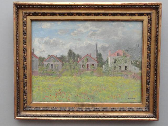Häuser / Houses in Argenteuil (1873), Claude Monet