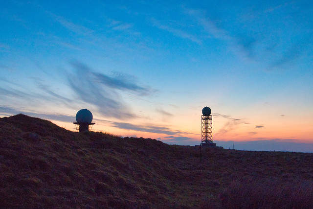 Dusk @ Clee Hill
