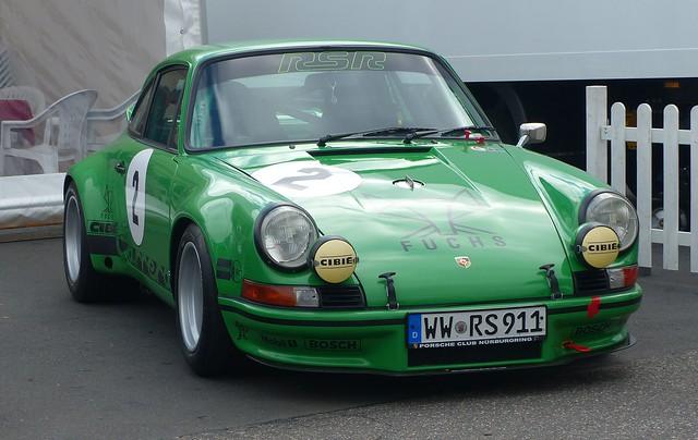 Porsche 911 RSR green vr