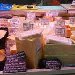 Fantastic cheese stall at Pickles of Preston