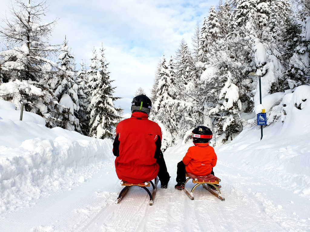Sledding Axams © Travel Tyrol