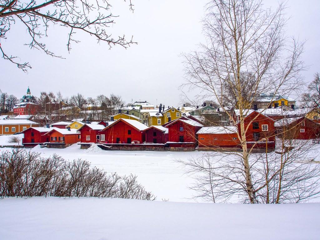 porvoo red houses2
