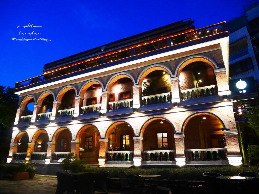 新北淡水必吃景觀餐廳推薦紅樓咖啡館Rc1899 Cafe夕陽河景日落下午茶 (1)