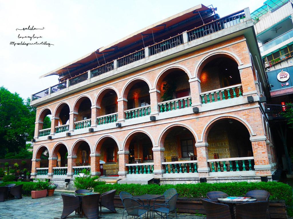 淡水超美景觀古蹟餐廳推薦紅樓咖啡館Rc1899 Cafe下午茶晚餐夕陽 (2)