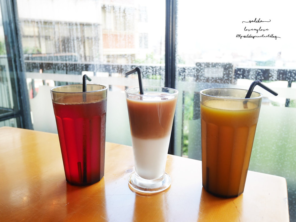 淡水老街附近景觀餐廳推薦紅樓咖啡館Rc1899 Cafe下午茶素食 (1)