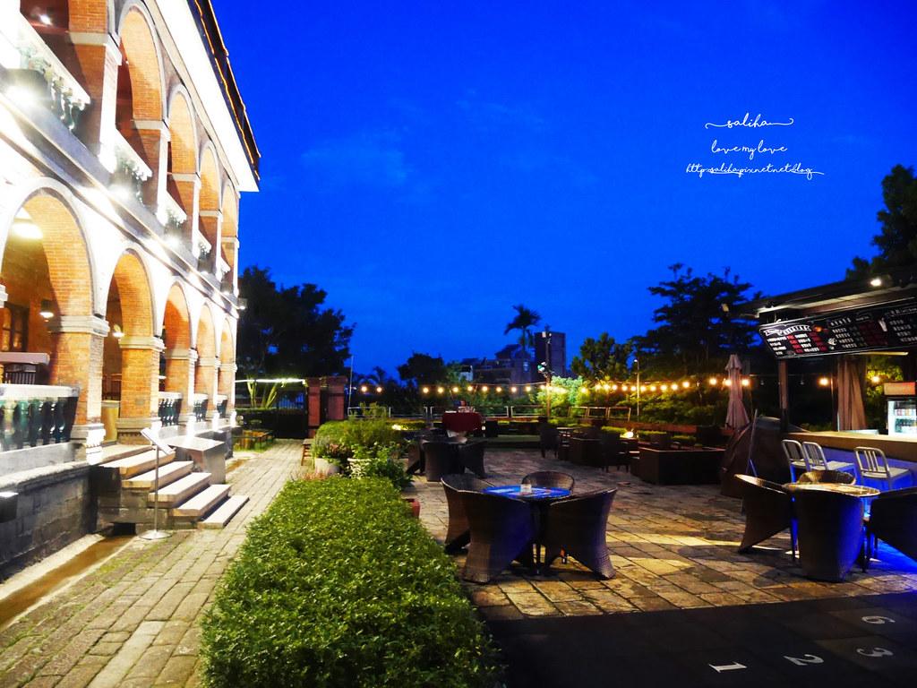 淡水好吃景觀餐廳推薦紅樓咖啡館Rc1899 Cafe素食下午茶義大利麵 (1)