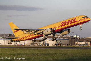 G-BMRD Boeing 757-200F DHL-Air Edinburgh Airport 22.07-19