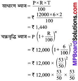 MP Board Class 8th Maths Solutions Chapter 8 राशियों की तुलना Ex 8.3 9
