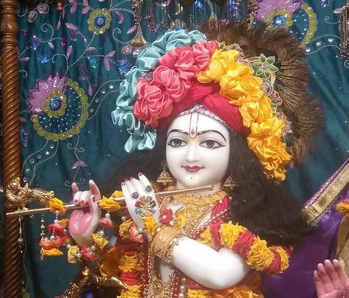 ISKCON Amravati Deity Darshan 19 Sep 2019