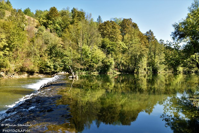 Skukani, Karlovac County, Croatia - Almost autumn on river Dobra