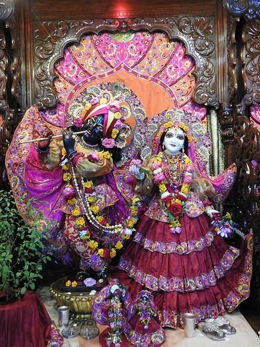 ISKCON New Mayapur Deity Darshan 17 Sep 2019