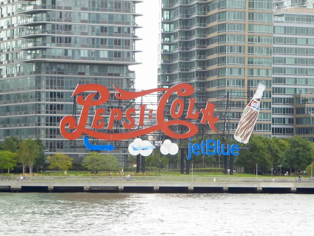Pepsi-Cola Sign (Sponsored by JetBlue) - New York City
