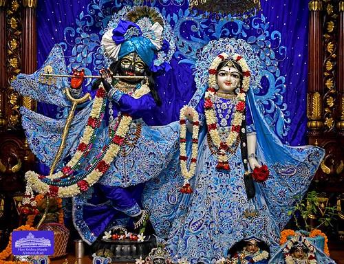 Hare Krishna Temple Ahmedabad Deity Darshan 18 Sep 2019
