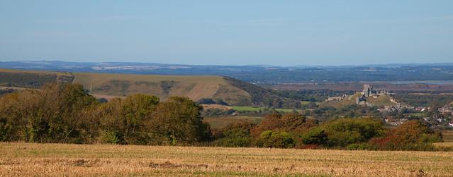 The Purbeck Hills Dorset