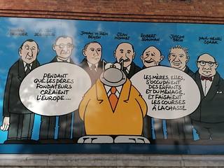 Viñetas callejeras. #Bruselas