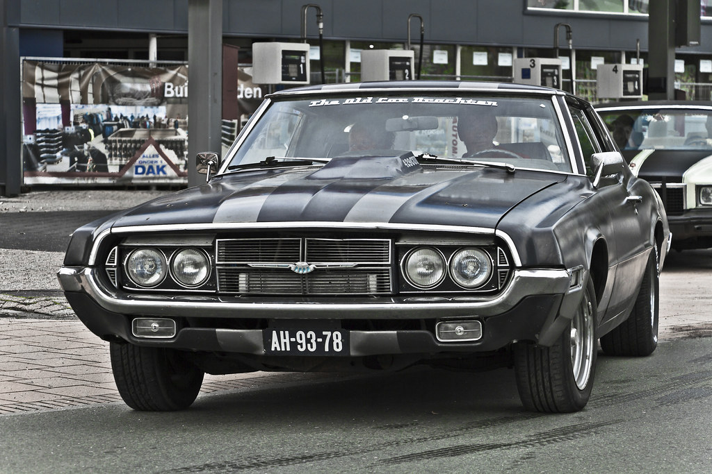 Ford Thunderbird Hardtop 1969 (9977)