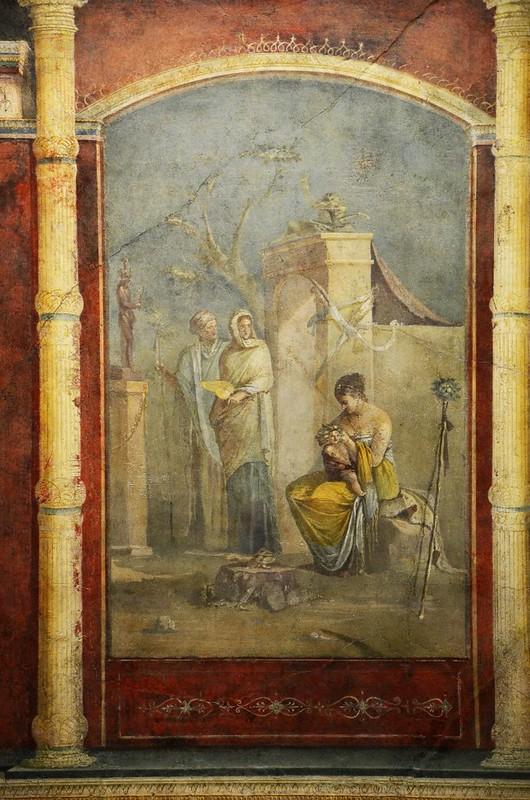 04 Фреска кубикулы виллы Октавиана Августа (или Марка Агриппы)