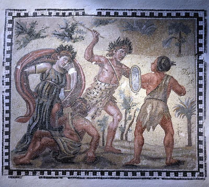 02 Римская напольная мозаика IV в