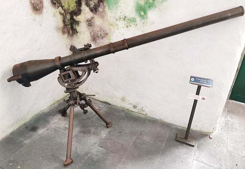 arma de fuego Museo Militar Forte de Sao Bras Ponta Delgada Isla San Miguel Azores Portugal 15