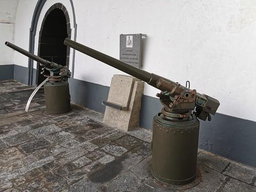 arma de fuego Museo Militar Forte de Sao Bras Ponta Delgada Isla San Miguel Azores Portugal 02