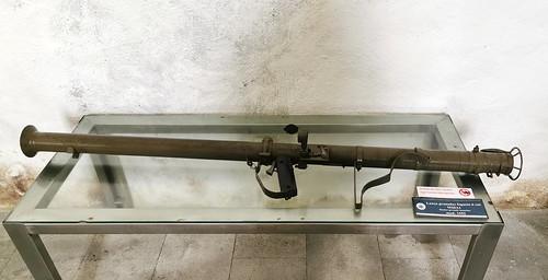arma de fuego Museo Militar Forte de Sao Bras Ponta Delgada Isla San Miguel Azores Portugal 13