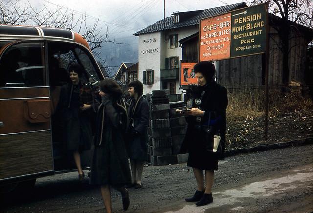 Les Marécottes, Switzerland, 1964
