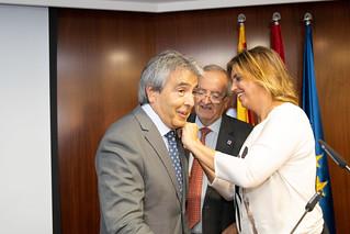 Distinció de Jaume Marimon com a soci honorari de PIMEC
