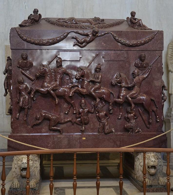07 Саркофаг св_Елены Рим IV в