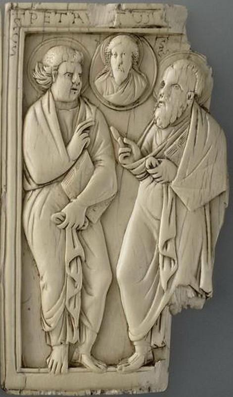 15 Апостолы., предстоящие Христу. Галлия; V в. местонахождение Франция. Париж. Лувр