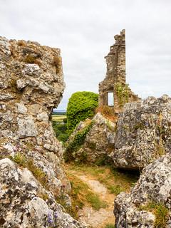 Corfe Castle, Dorset, UK