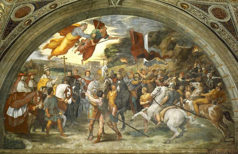 26 Рафаэль. Папа Лев Великий останавливает Аттилу
