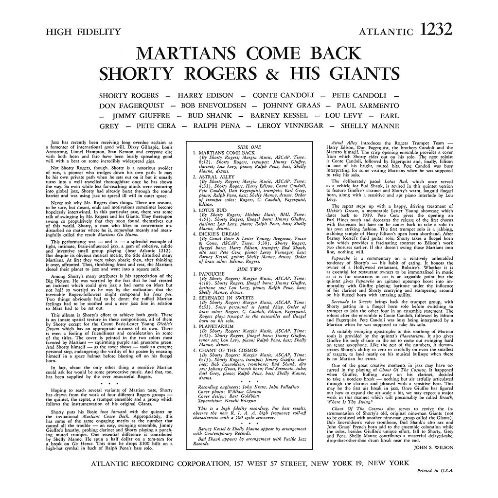 Shorty Rogers - Martians Come Back!