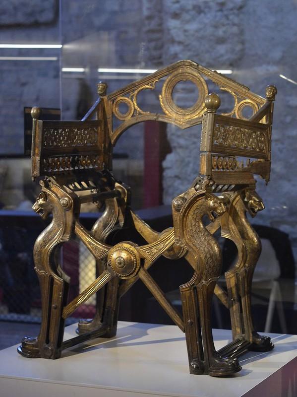 43 Трон Дагобера I нач VII в. Париж Национальная библиотека
