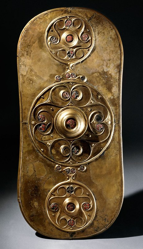 58 Кельтский ритуальный щит 350-50 гг до н.э.