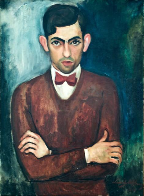 Manuel Mendes Portrait (1930) - Sarah Affonso (1899-1983)