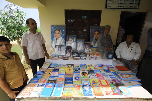 Publications stall at Bhawan