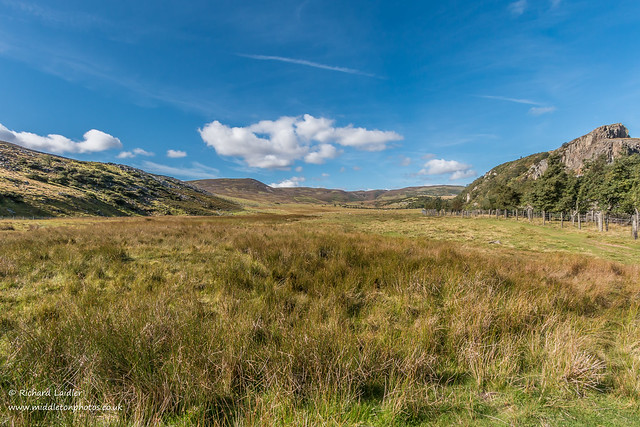 Towards Cronkley Fell and Noon Hill from Blea Beck Sep 2019