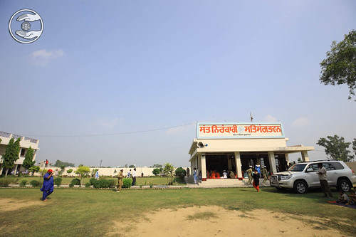 View of Sant Nirankari Satsang Bhawan