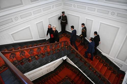 Ķīnas Tautas Republikas ārkārtējā un pilnvarotā vēstnieka Liana Dzjaņguaņa (H. E. Mr Liang Jianguan) akreditācija