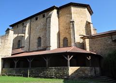 Monastère Santa María de Zenarruza (XIVe_XVe), Ziortza-Bolibar, comarque de Lea-Artibai, Biscaye, Pays basque, Espagne.