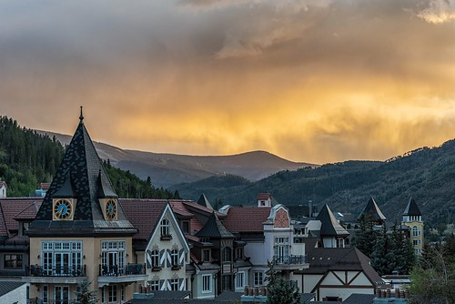 Sunset Over Vail