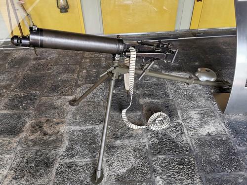 arma de fuego Museo Militar Forte de Sao Bras Ponta Delgada Isla San Miguel Azores Portugal 07