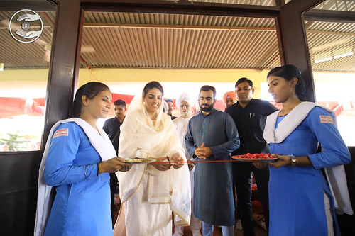 Her Holiness Inauguration of Bhariwal Bhawan