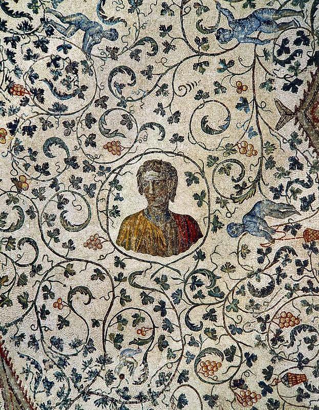09 Мозаики мавзолея Констанции, дочери имп Константина Рим IV в
