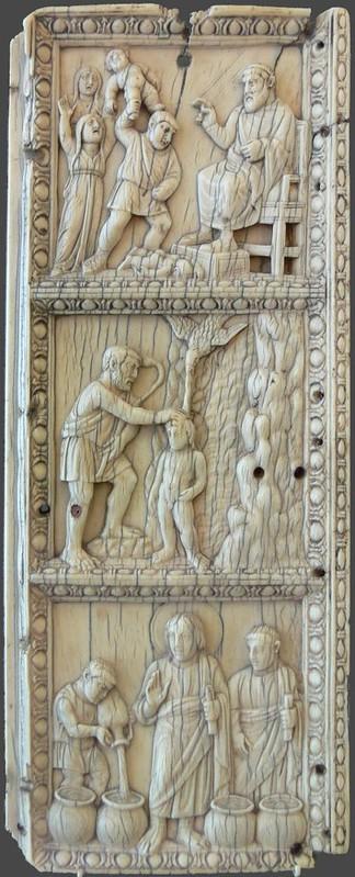 20 Створка триптиха Милан V в. Музей Боде Берлин