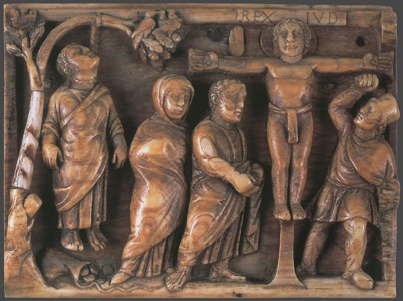 17 Распятие Христово и повешение Иуды. 420-430 гг. Римская Империя.