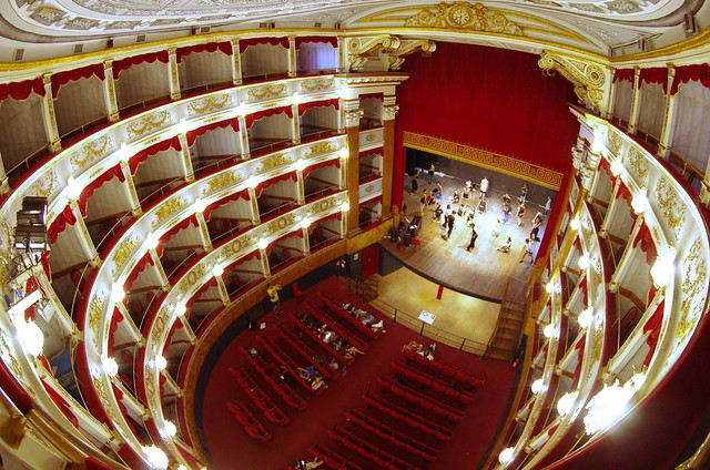 635 Sicile Juillet 2019 - Noto, Teatro Comunale Tina Di Lorenzo